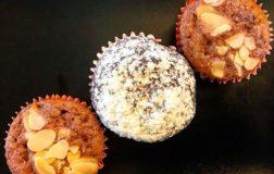 Mini cake al melograno & mini cake al cacao: 2 ricette golose