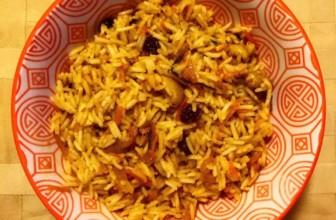 Riso basmati speziato alle verdure – Ricetta etnica