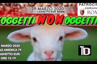 Soggetti Non Oggetti a Roma la grande manifestazione nazionale per i diritti di tutti gli animali
