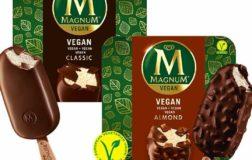 Magnum lancia anche in Italia il gelato vegan in due gusti: classic e almond