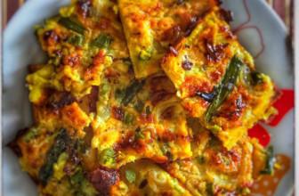 Farinata con asparagi e cipolla di Tropea – Ricetta facile