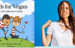 """""""V is for Vegan"""", l'ABC dell'Essere Gentile, che insegna ai grandi come insegnare ai bimbi il veganesimo"""