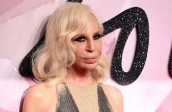 """Donatella Versace: """"Non voglio uccidere animali per fare moda. Non mi sembra giusto"""""""