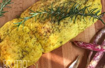 Polpettone di patate farcito: la ricetta gustosa.