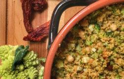 Cous Cous invernale con verdure e Caciorisella