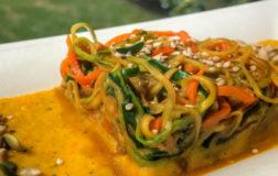 Noodles di verdure in salsa piccante – Ricetta etnica