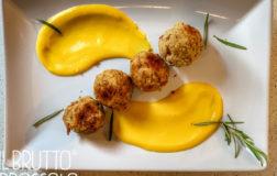 Polpettine al profumo di rosmarino con crema di zucca e patate – Ricetta Bimby