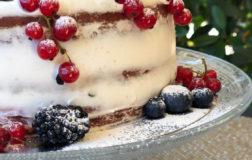 Naked Cake estiva: la torta nuda sempre più di tendenza