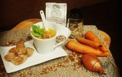 Zuppa di lenticchie, curcuma e zenzero – Ricetta facile