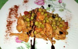 Spezzatino di soia con piselli: un piatto classico della cucina veg
