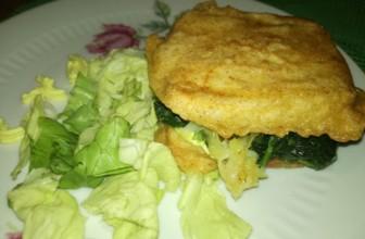 Mini Toast di tofu con spinaci e patate per il Brunch di Ferragosto