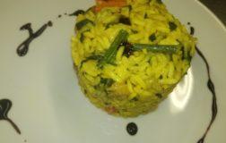 Minestrone freddo di verdure con riso fino Jasmin