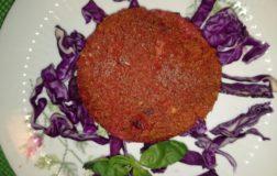 Come preparare deliziosi burgers di rape rosse e tofu