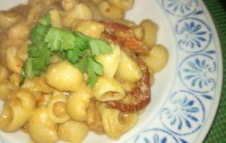 Lumachine con crema di ceci e pomodori secchi, ricetta facilissima