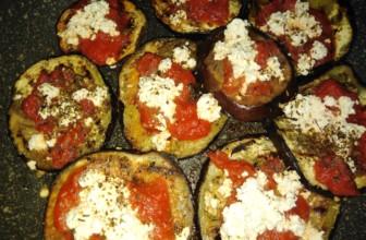 Pizzette vegan di melanzane al forno, veloci, facili e gustose
