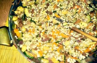 Mix di verdura e frutta con grano saraceno – Ricetta gluten free
