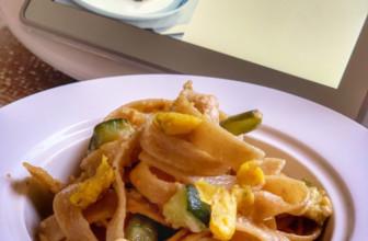 Carbonara di zucchine e tempeh – Ricetta Bimby