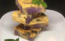 Farinata batatosa e zucchinosa, la ricetta sfiziosa