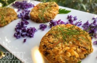 Crocchette di sorgo e verdure per l'aperitivo veg