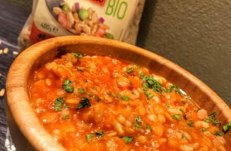 Farro e Avena con ragù di lenticchie – Ricetta nutriente