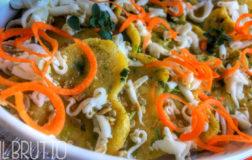 Cuoricini di polenta alla verza per l'aperitivo veg