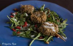 Raw Vegan Falafel per un aperitivo sfizioso
