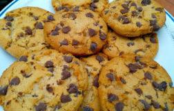 Cookies con zucca e gocce di cioccolato
