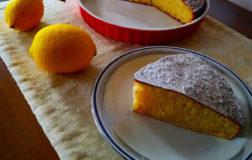 Torta soffice al limone, ricetta facilissima