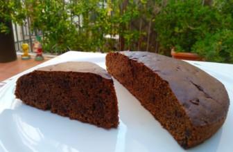 Torta al cacao e caffè, semplice e buona
