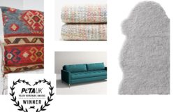 PETA Vegan Homeware Awards 2018: vincono Ikea, Zara Home E House Beautiful UK