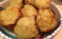 Hashbrowns all'inglese: crocchette di patate e cipolle