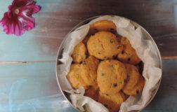 Biscotti con mirtilli senza zucchero
