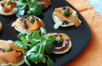 Bliny al sapore di mare – Ricetta della tradizione culinaria russa per l'aperitivo