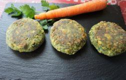 Burger con lupini e scarto dell'estratto vegetale