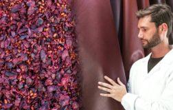 Wineleather: il primo tessuto vegetale al 100% simile alla pelle, creato dal vino e made in Italy
