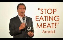 Arnold Schwarzenegger in un video mostra la sua alimentazione quasi veg