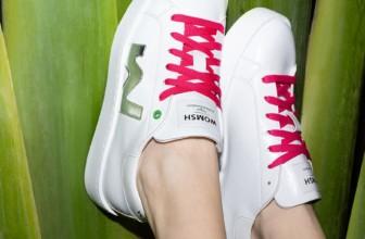 Womsh presenta le sneakers vegan fatte con gli scarti di mela