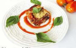 Fake-parmigiana alle melanzane nella versione vegan