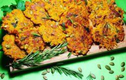 Frittelle di zucca: finger food per l'aperitivo