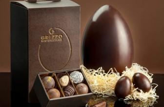 Grezzo Raw Chocolate presenta Il primo uovo di Pasqua crudista