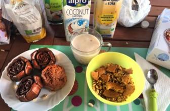 Colazione vegana, equilibrata e sana