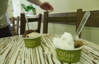 Olive Dolci a Roma la gelateria con il gelato all'olio di oliva