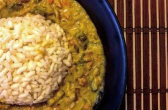 Riso & Curry di verdure al latte di cocco – Ricetta etnica