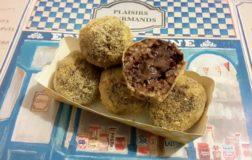 Arancini dolci con crema di nocciole e cioccolato