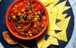 Chili senza carne, la ricetta tex mex