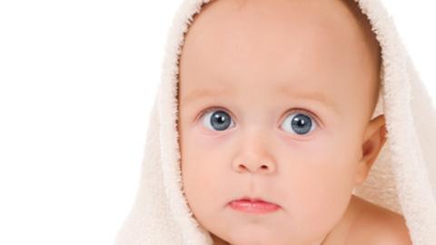 bambino prurito