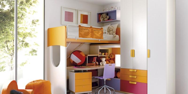 Organizzare la camera dei bambini