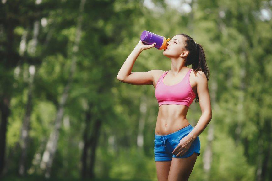 Corsa: quali integratori bere in estate