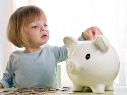 Bambini ed economia, educhiamoli al risparmio