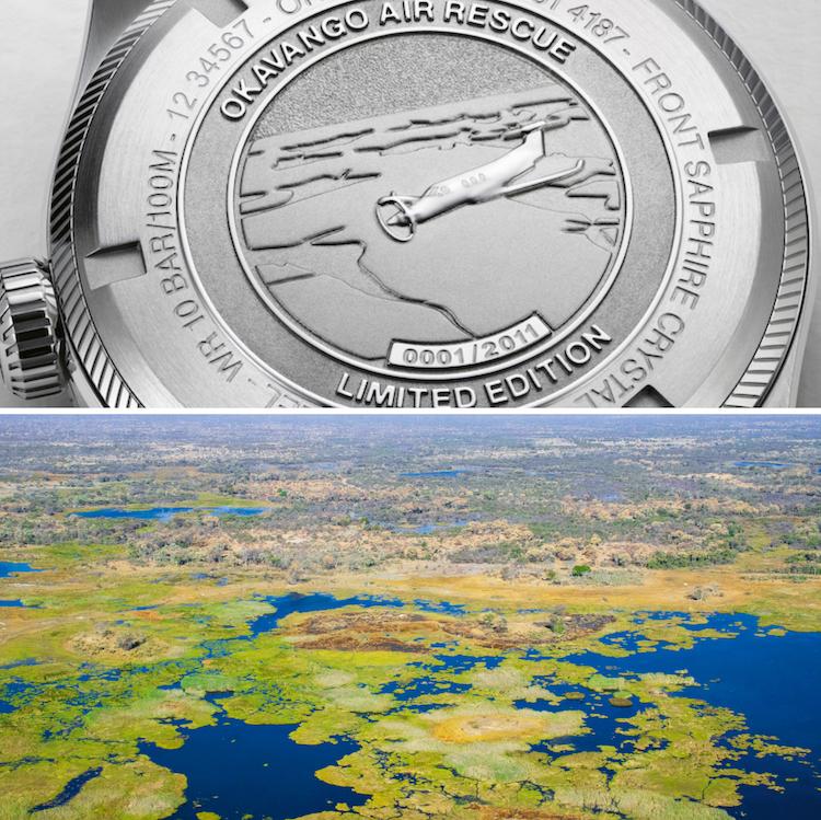 Oris Okavango Air Rescue
